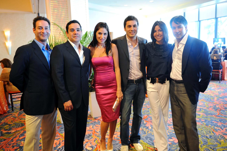 Danielle Hernandez, Fabian Basabe, Shari Liu, Rene Ruiz, & friends