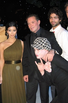 Kim Kardashian, The Forges Shareef Malnik, Richie Rich, HBO Entourage Star Adrien Grenier
