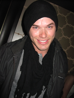 Kellan Lutz at Florida Room