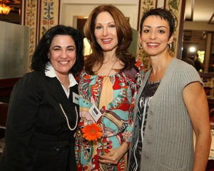 Jennifer Behar, Tara solomon and Belkys Nerey