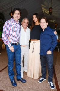 Thompson Miami Beach dinner by Seagrape Chef Michelle Bernstein hosted by Lee Brian Schrager, Ricardo Restrepo, Charlie & Lauran Walk
