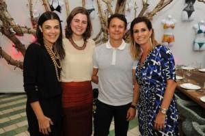 Adriana Hubbard, Isabel Fontoura, Christiano Braga, & Priscilla Caiad