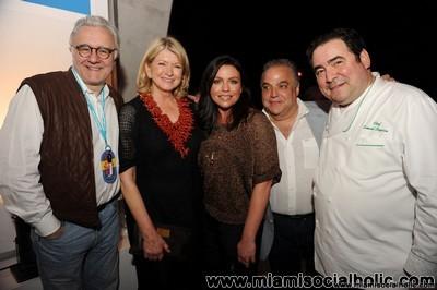Alain Ducasse, Martha Stewart, Rachael Ray, Lee Schrager, Emeril Lagasse