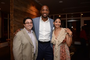 Alonzo Mourning and Tracy Mourning