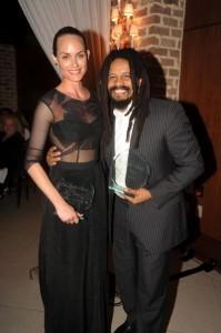Amber Valletta & Rohan Marley1 credit WorldRedEye