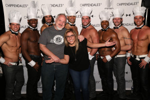 Art Smith and Lorena Garcia with Chippendales