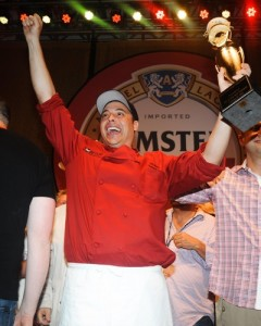 SOBEWFF: Amstel Light Burger Bash presented by Pat LaFrieda Meats hosted by Rachael Ray
