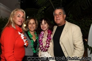 Barbara Herzberg, Bonnie Clearwater, Diane and Alan Lieberman