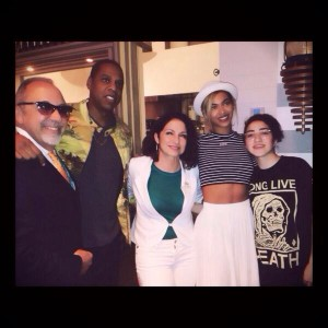 BeyonceJayZatSeasalt&Pepper