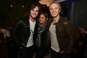 Diego Boneta, Carrie Hyman, and Nick D'annunzio