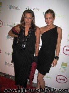 Donna Karan and Maria Bello at Sustainatopia Awards