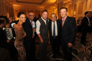 Gabrielle Anwar, Norman Wedderburn, Shareef Malnik, Lee Schrager, & Robert Hill