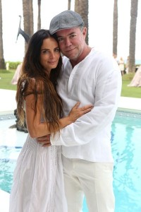 Gabrielle Anwar and Shareef Malnik