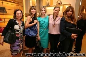 Gail Meyers, Beth Tasca, Suzy Buckley, Daniela Swaebe, and Nadine Curmi Borgomanero