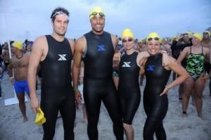 Geoff Stults, Rick Fox, Eliza Dushku, and Ali Vincent