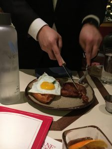Jeremy Yoza, General Manager presents The Duck and Waffle