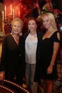 Iran Issa-Khan, Ann Getty, and Christina Getty-Maercks