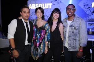 John Lermayer, Agustina Woodgate, DJ Jessica Who, and MC Zeale