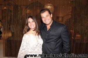 Luciana Fagali and Paulo Bacchi