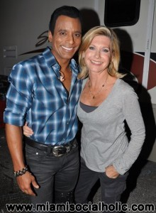 Jon Secada and Olivia Newton-John
