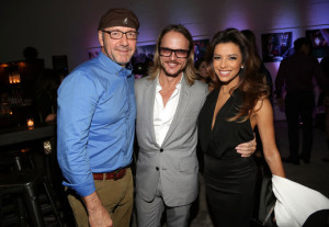 Kevin Spacey and Eva Longoria