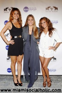 Maria Menounos , Shay Todd, and Adrienne Bailon
