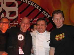 Morimoto, Symon, Boulud, Flay at BB2010