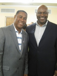 Nat Moore and Dwight Stephenson
