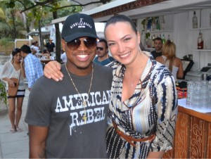 NeYo and Jeniya Penrod