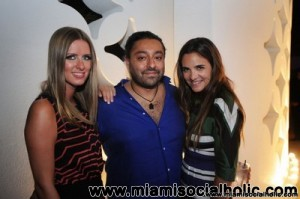 Nicky Hilton, Vikram Chatwal, and Laure Herald Dubreuil