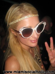 Paris Hilton at WALL