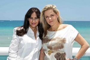 Perla Machaeh and Beatriz Samano