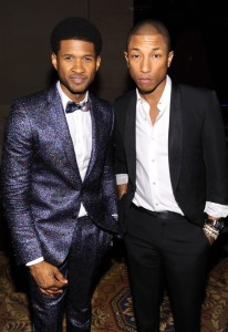 Pharrell and Usher