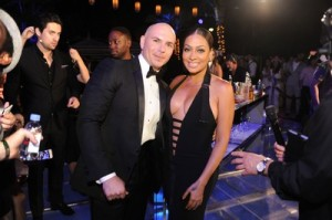 Pitbull & La La Anthony1