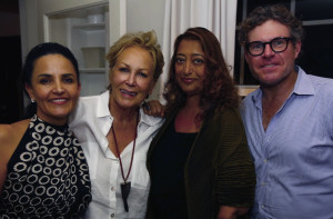 Susie_Wahab,_Iran_Issa-Khan,_Dame_Zaha_Hadid_and_Michael_Leondas_Kirkland_at_his_dinner_for_Hadid_copy