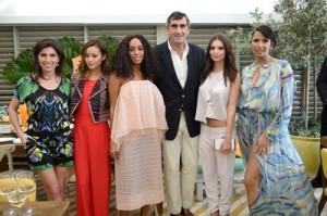 Vanessa Kay, Jamie Chung, Solange Knowles, Jean-Marc, Emily Ratajkowski, Padma Lakshmi