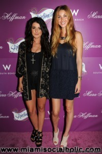 Whitney Port and Shenae Grimes