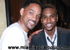 Will Smith with Trey Songz