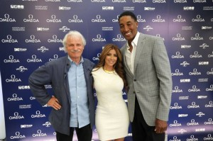 Yann Arthus Bertrand, Larsa and Scottie Pippen