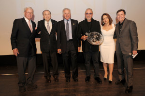 Tom Brokaw, Dr. Barth Green, Nick Buoniconti, Emilio Estefan, Gloria Estefan, & Bob Costas