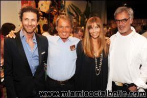 Fabrizio Cocchi,Paolo,Nadine,and Daniel Borgomanero