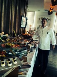 Chef Philipe Ruiz at FAB Brunch